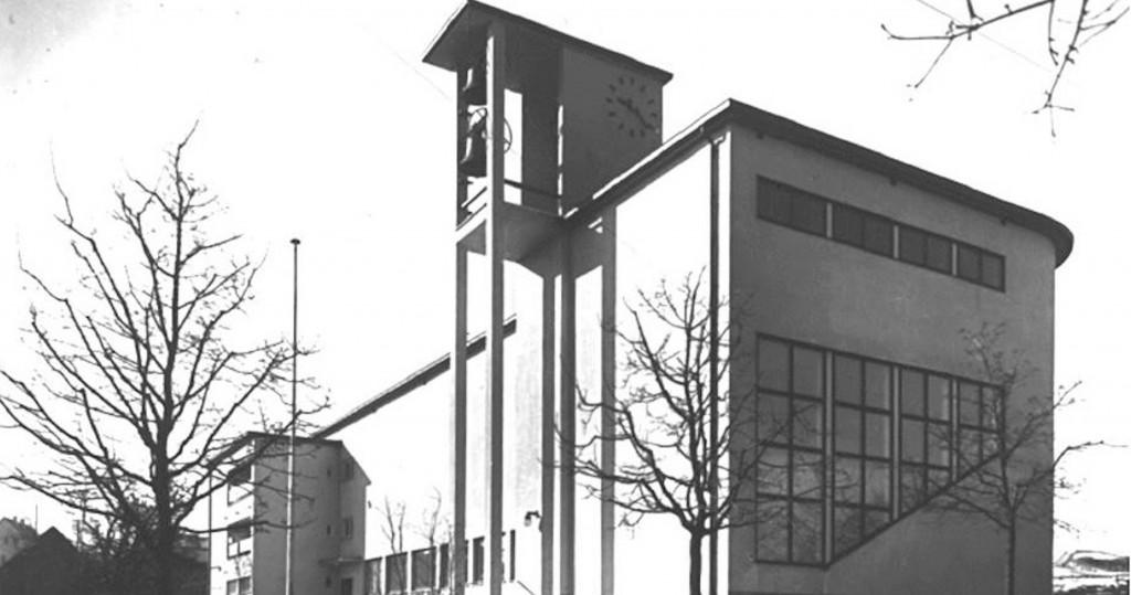 Nordansicht Brenzkirche 1933