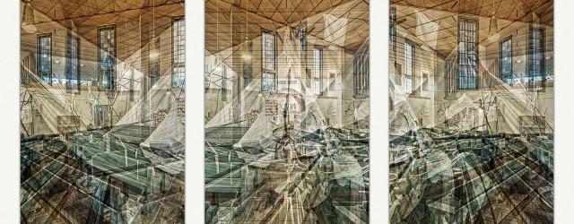 Triptychon Brenzkirche 21.5.2015. Foto: Josh von Staudach