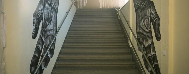 Raumeindruck Treppenhaus Foto: Josh von Staudach